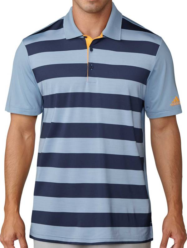 adidas Men's Ultimate Rugby Stripe Golf Polo product image