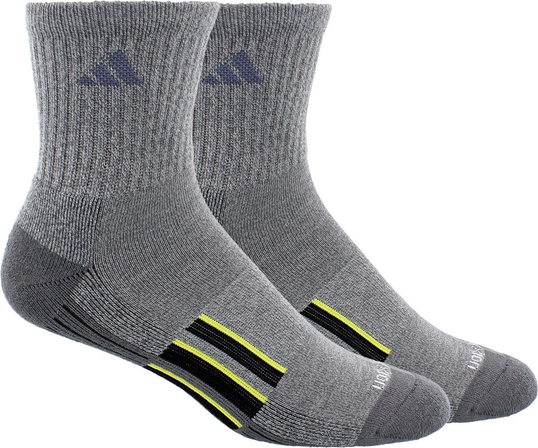 269af3238 adidas Men's climalite X II Mid-crew Socks 2 Pack | DICK'S Sporting ...