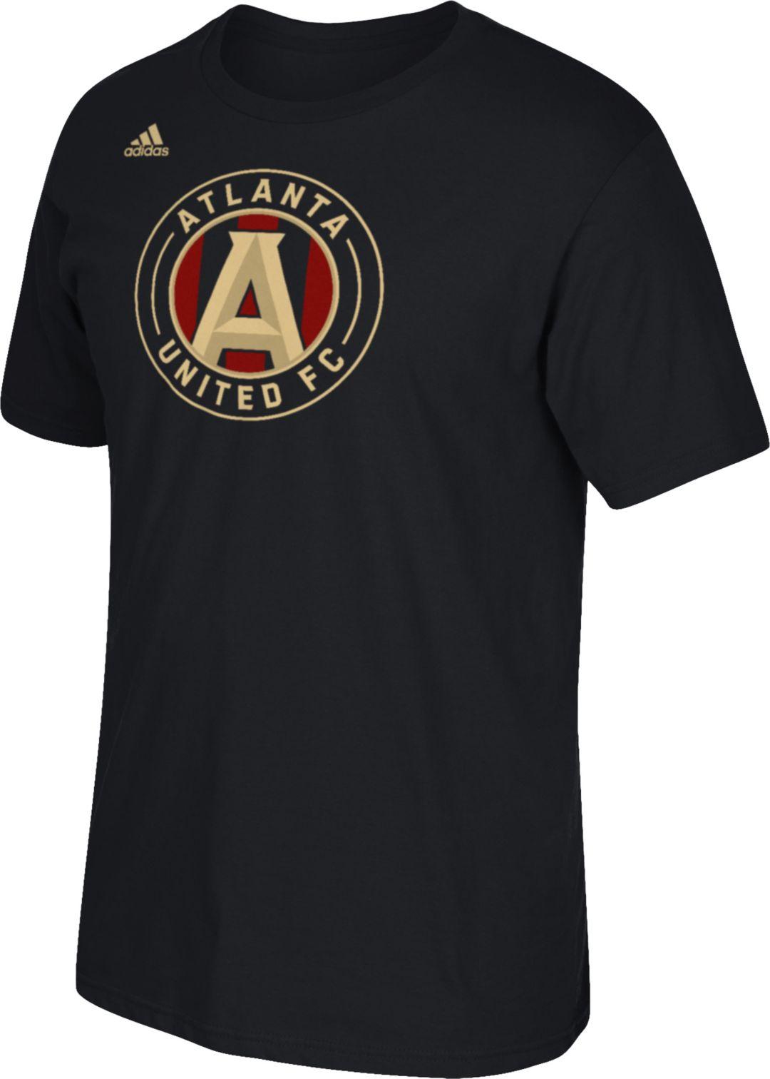 6e3b35cc37 adidas Men's Atlanta United Logo Black T-Shirt