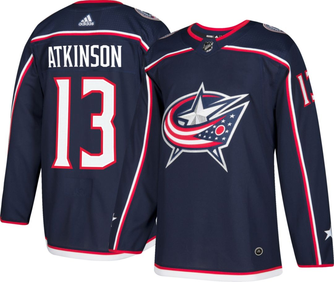 pretty nice 20c71 478fc adidas Men s Columbus Blue Jackets Cam Atkinson  13 Authentic Pro Home  Jersey. noImageFound. Previous