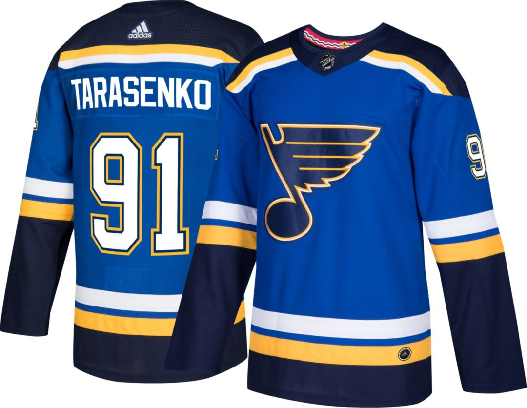 watch 2bfb2 bec0a adidas Men's St. Louis Blues Vladimir Tarasenko #91 Authentic Pro Home  Jersey