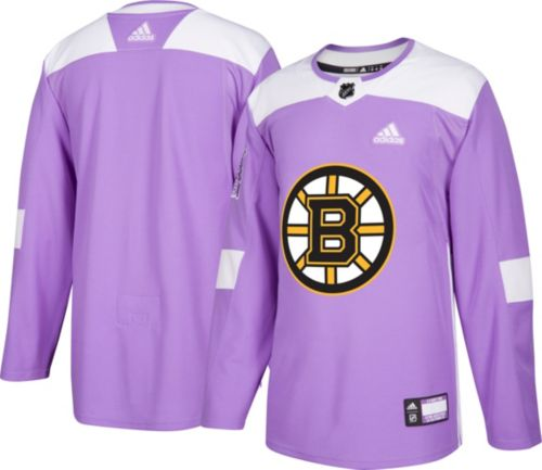 a692d70f6bb adidas Men s Boston Bruins Hockey Fights Cancer Authentic Pro Jersey ...