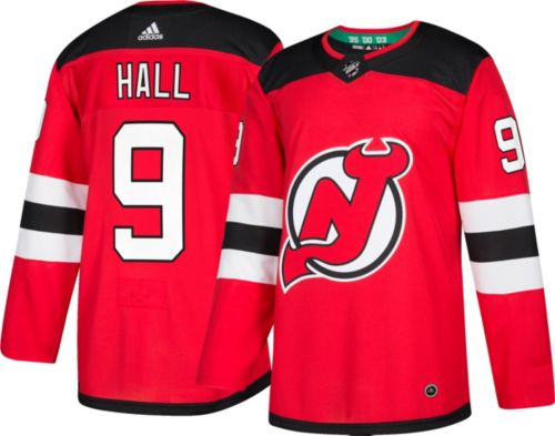 c438aa9fb adidas Men's New Jersey Devils Taylor Hall #9 Authentic Pro Home ...