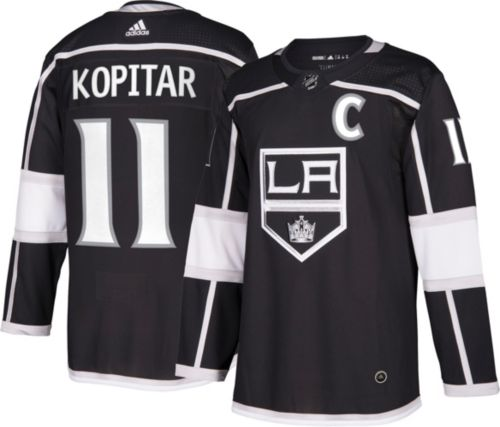 721bbef79ce adidas Men s Los Angeles Kings Anze Kopitar  11 Authentic Pro Home ...