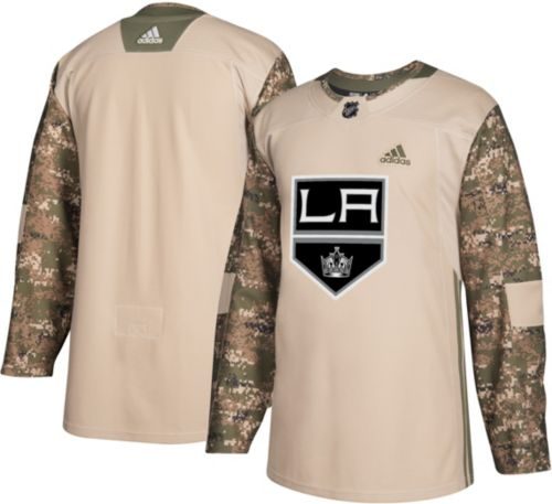 f1a718396eae adidas Men s Los Angeles Kings Camo Authentic Pro Jersey