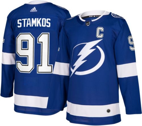 28ff6ffb179 reduced adidas mens tampa bay lightning steven stamkos 91 authentic pro  home jersey. noimagefound.
