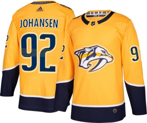 adidas Men s Nashville Predators Ryan Johansen  92 Authentic Pro ... b92693add