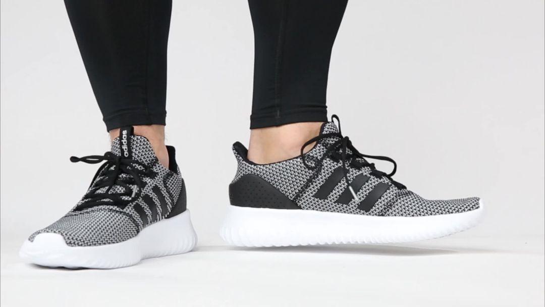 Adidas Gray Neo Cloudfoam Flow Sneaker for men