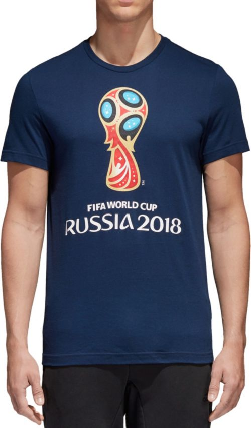 6b23b55069b adidas Men s 2018 World Cup Russia Logo Navy T-Shirt. noImageFound. Previous