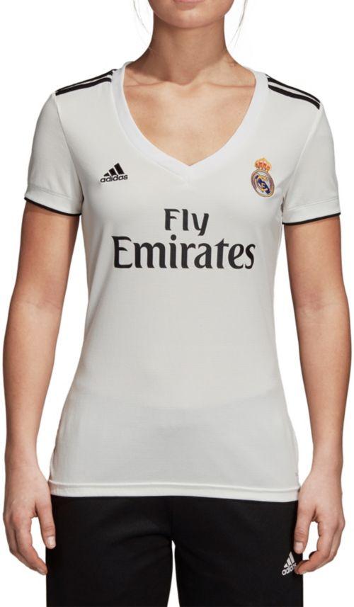 adidas Women s Real Madrid 2018 Stadium Home Replica Jersey  de53d7ffa5
