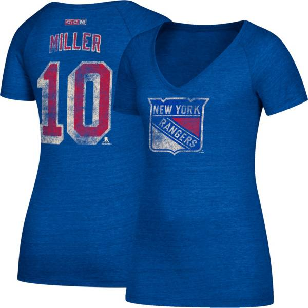 CCM Women's New York Rangers J.T. Miller #10 Royal T-Shirt product image