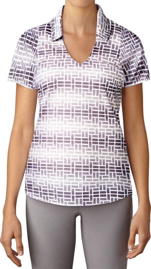 015e504d adidas Women's Merch Print Golf Polo | DICK'S Sporting Goods