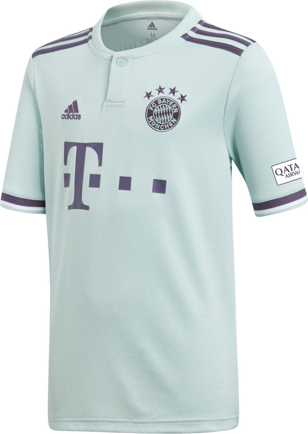 89de53f4 adidas Youth Bayern Munich 2018 Stadium Away Replica Jersey. noImageFound. 1