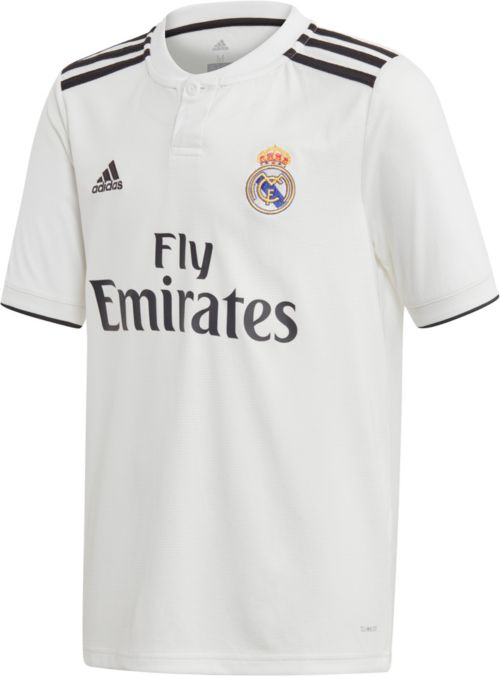 2018 Replica Madrid Real Adidas Home Youth Stadium JerseyDick's N8wkOPXn0