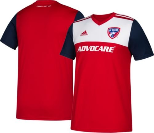 8d22073bc adidas Youth FC Dallas Primary Replica Jersey. noImageFound. Previous