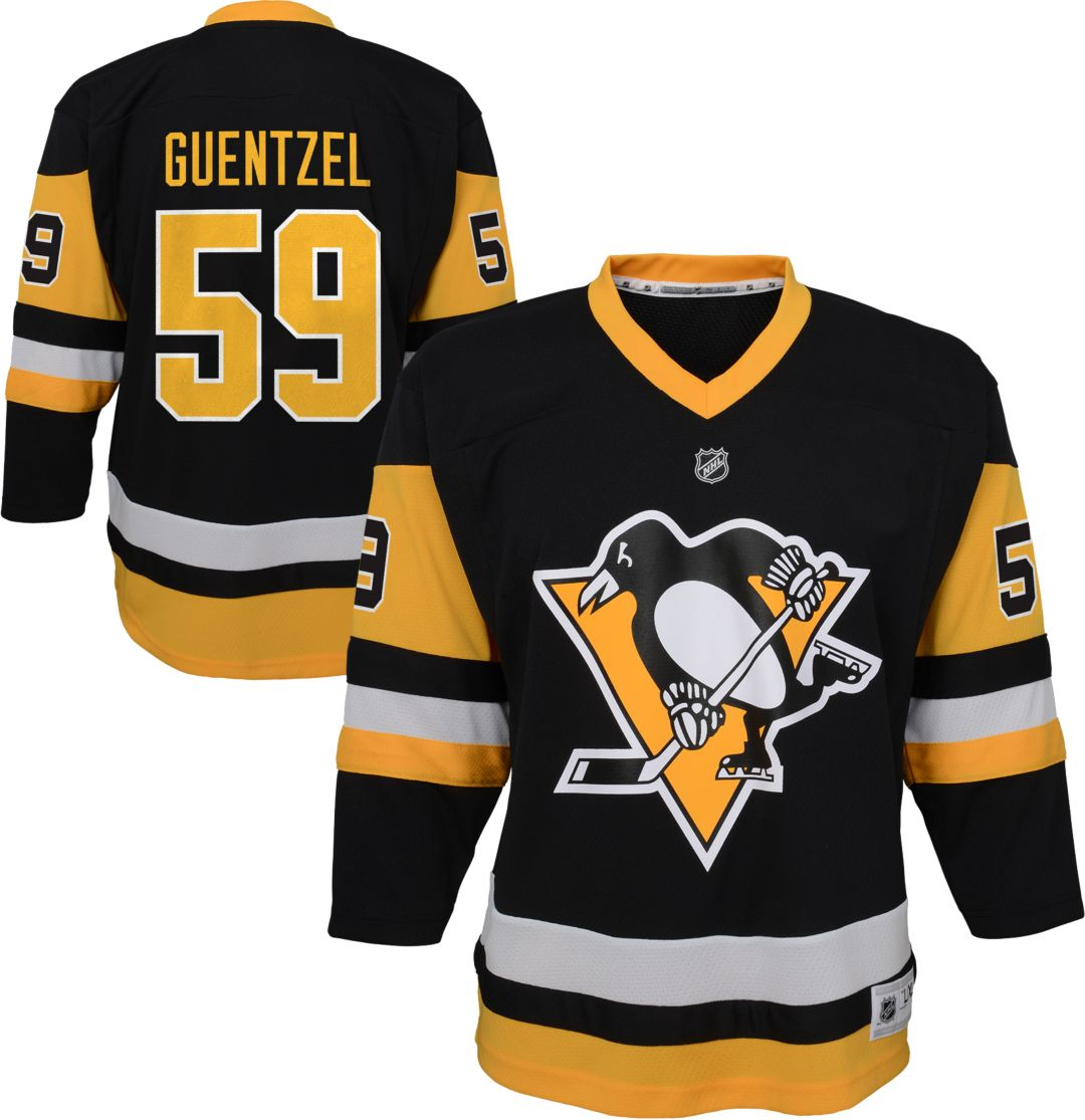newest e16b2 c51f9 NHL Youth Pittsburgh Penguins Jake Guentzel #59 Replica Home Jersey