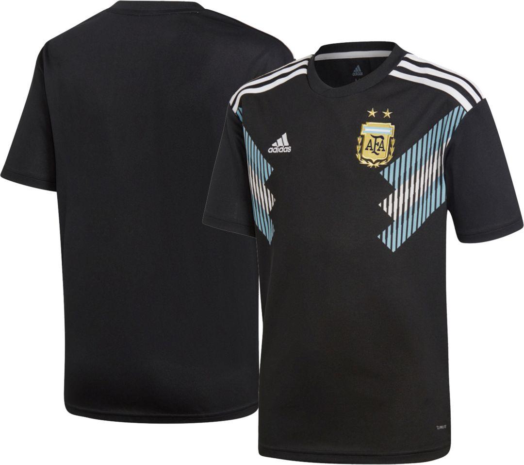 c1c03e55784188 adidas Youth 2018 FIFA World Cup Argentina Stadium Away Replica Jersey
