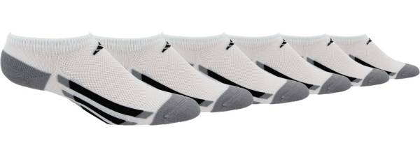 adidas Kids' Vertical Stripe No Show Socks - 6 Pack product image