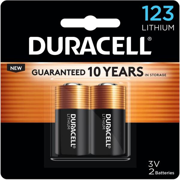Duracell 123 3V Lithium Batteries – 2 Pack product image