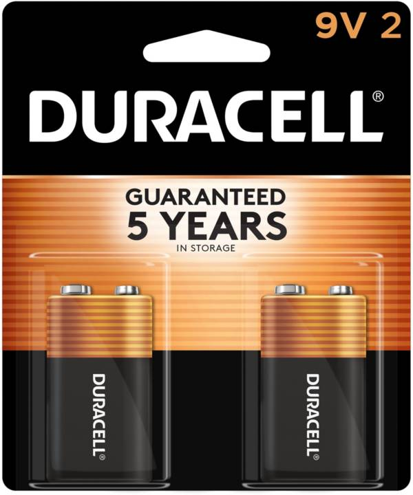 Duracell Coppertop 9V Alkaline Batteries – 2 Pack product image