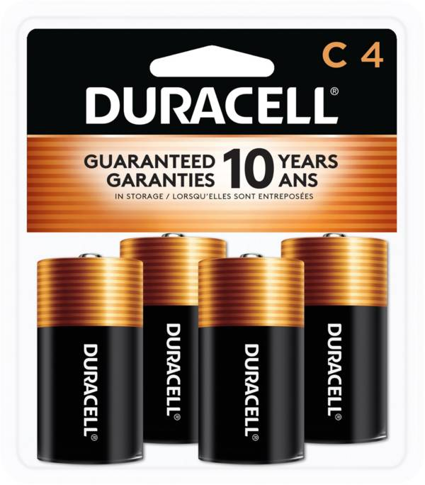 Duracell Coppertop C Alkaline Batteries – 4 Pack product image