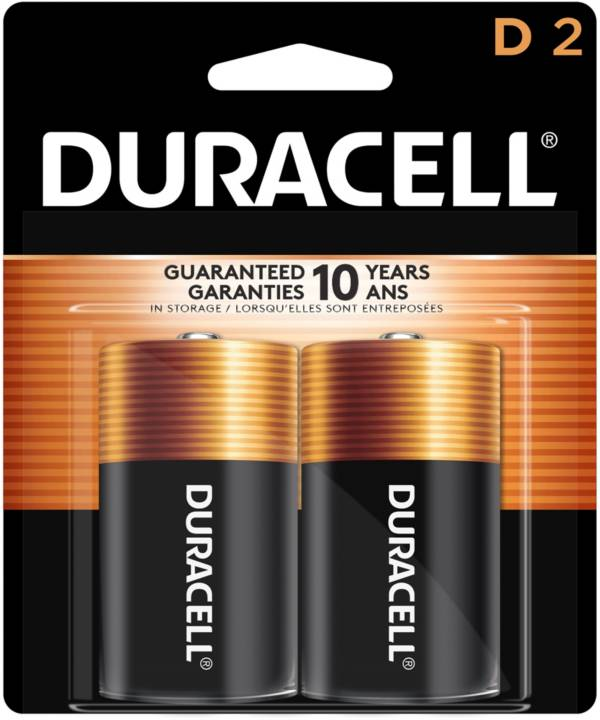 Duracell Coppertop D Alkaline Batteries – 2 Pack product image
