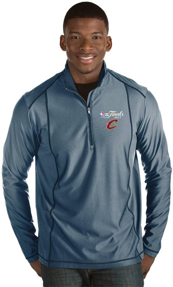 Antigua Men's 2017 NBA Finals Cleveland Cavaliers Tempo Navy Quarter-Zip Pullover product image