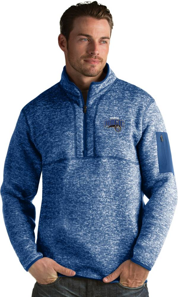 Antigua Men's Orlando Magic Fortune Royal Half-Zip Pullover product image