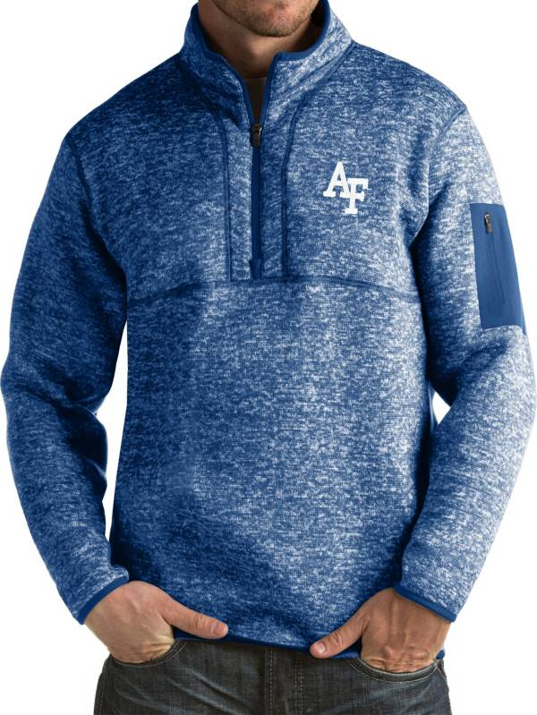 Antigua Men's Air Force Falcons Blue Fortune Pullover Jacket product image