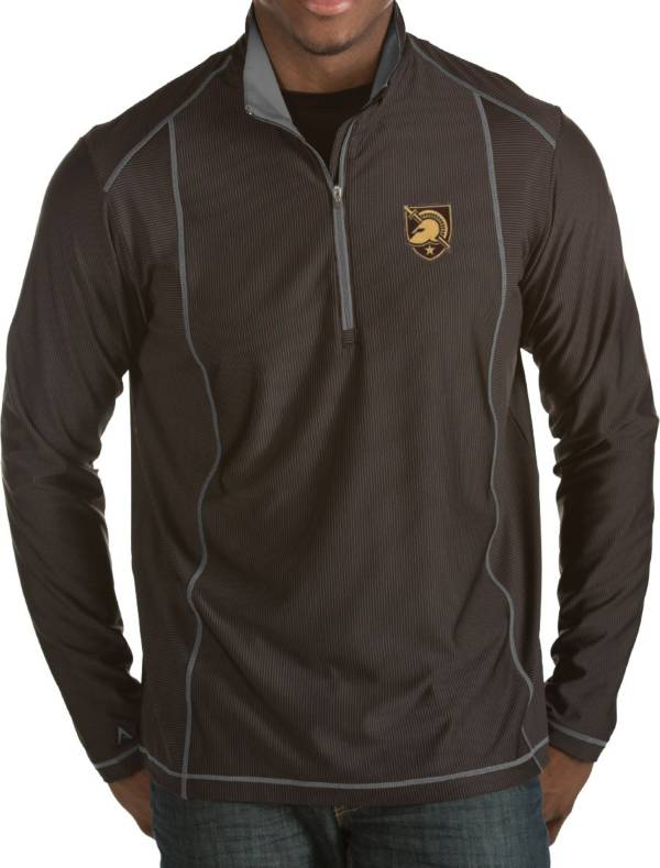 Antigua Men's Army West Point Black Knights Army Black Tempo Half-Zip Pullover product image