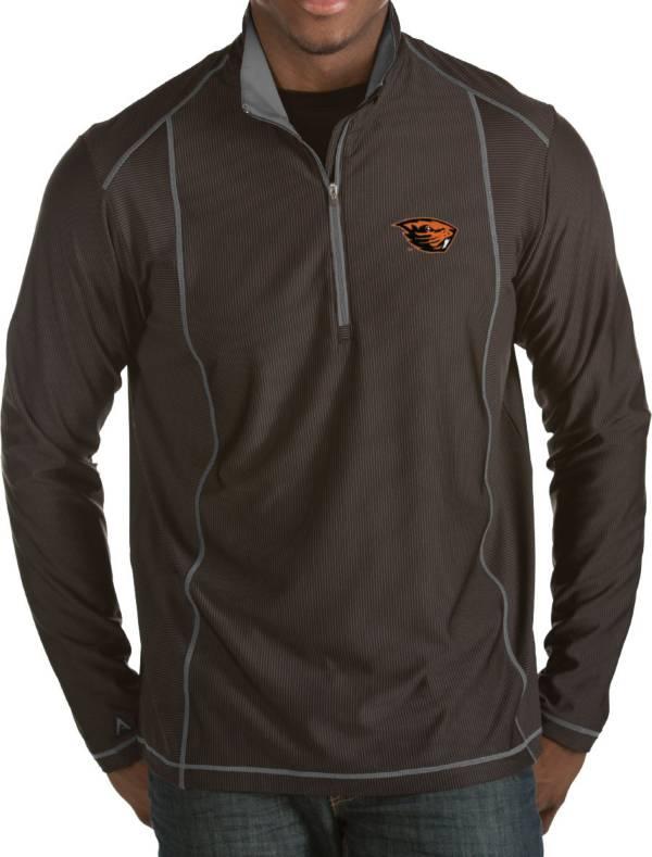 Antigua Men's Oregon State Beavers Black Tempo Half-Zip Pullover product image