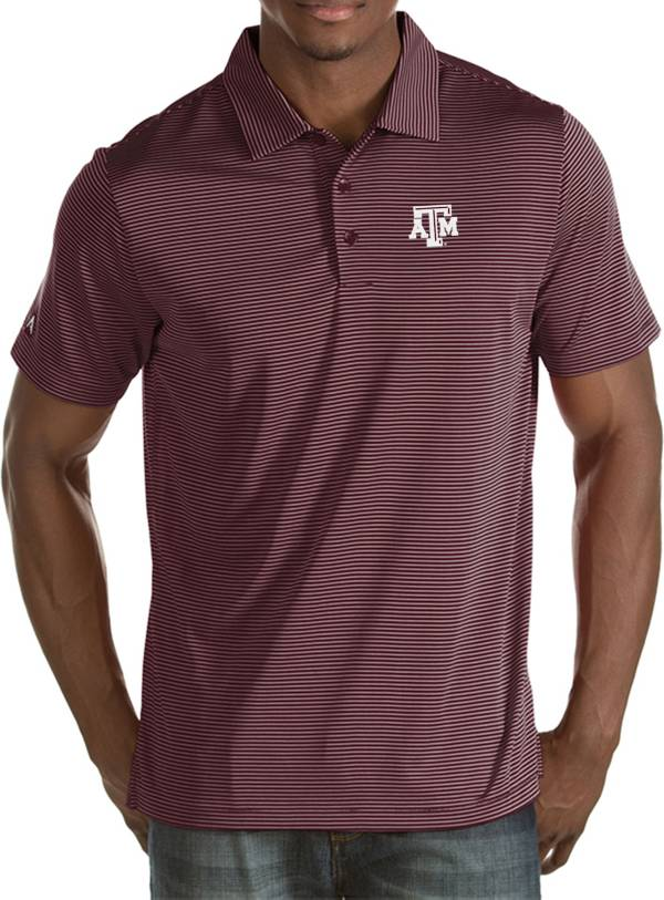 Antigua Men's Texas A&M Aggies Maroon Quest Polo product image