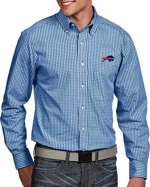Antigua Men's Buffalo Bills Associate Button Down Dress Shirt product image