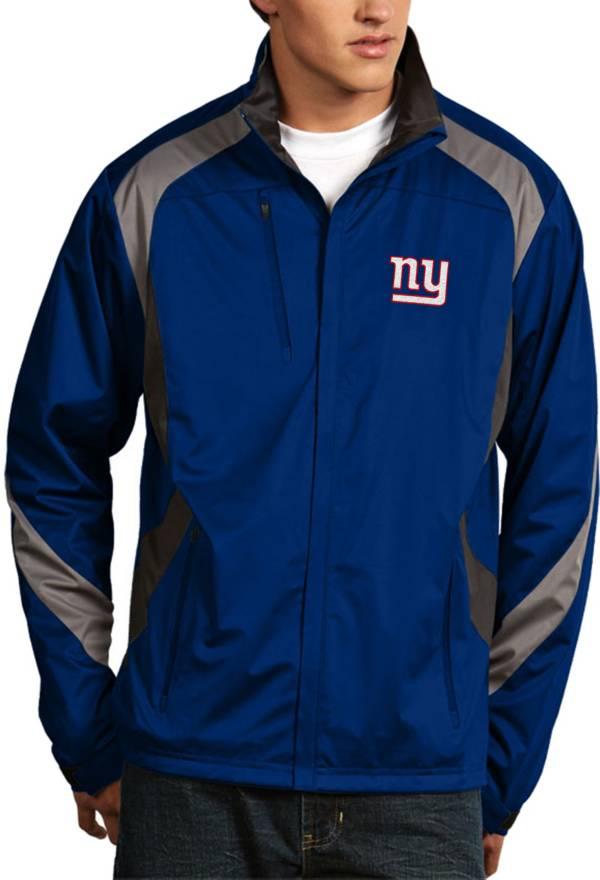 Antigua Men's New York Giants Tempest Royal Full-Zip Jacket product image