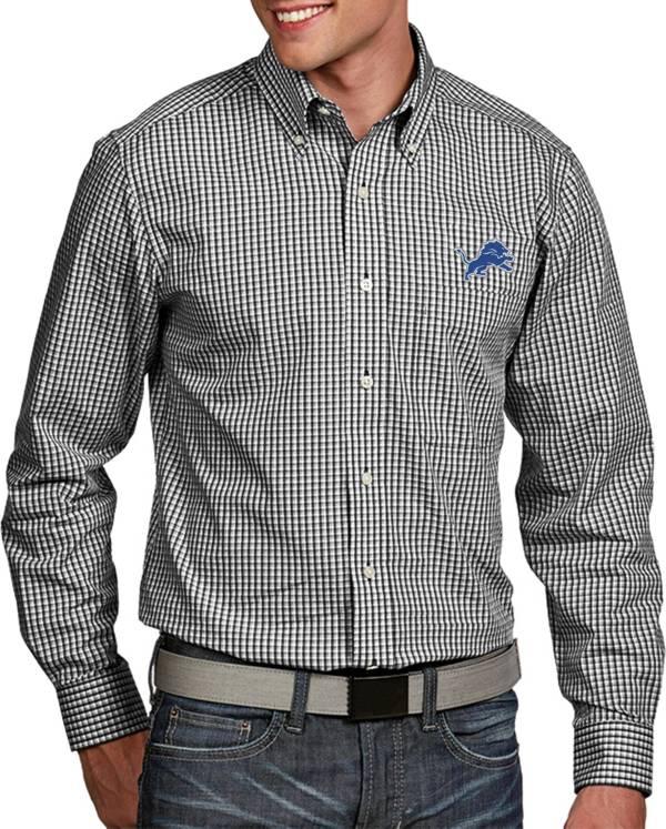Antigua Men's Detroit Lions Associate Button Down Dress Shirt product image