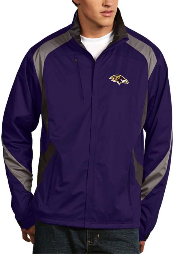 Antigua Men's Baltimore Ravens Tempest Purple Full-Zip Jacket product image