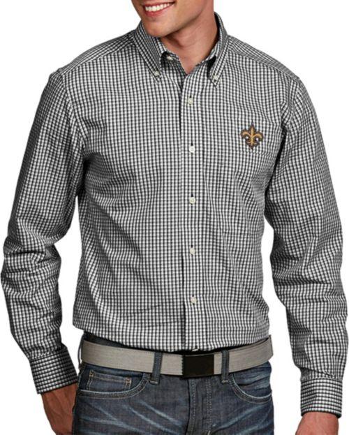 7f420965965 Antigua Men's New Orleans Saints Associate Button Down Dress Shirt.  noImageFound. 1