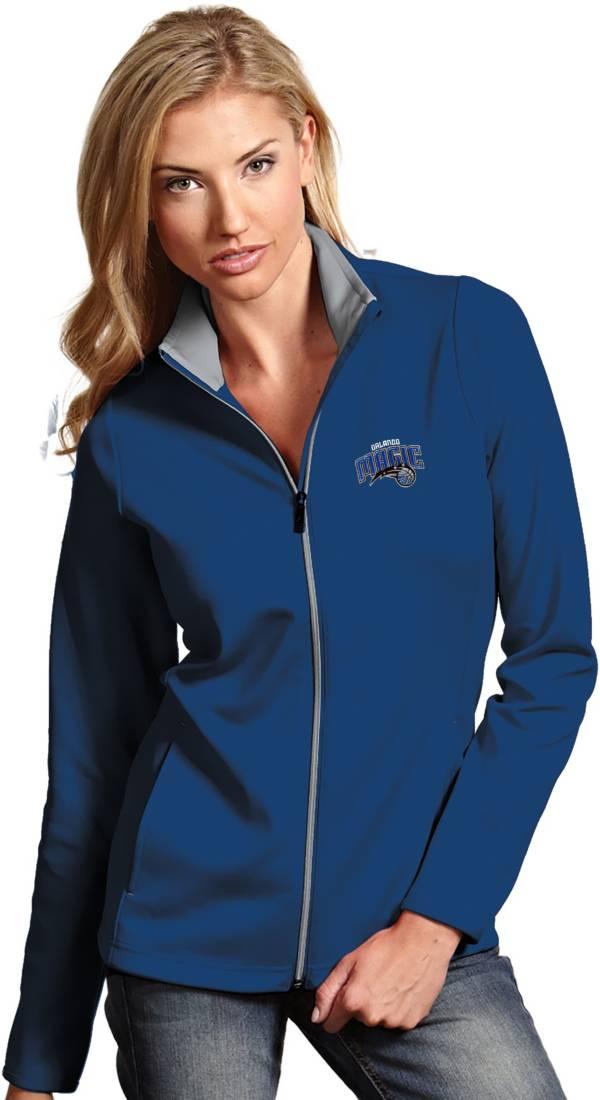 Antigua Women's Orlando Magic Leader Royal Full-Zip Fleece product image