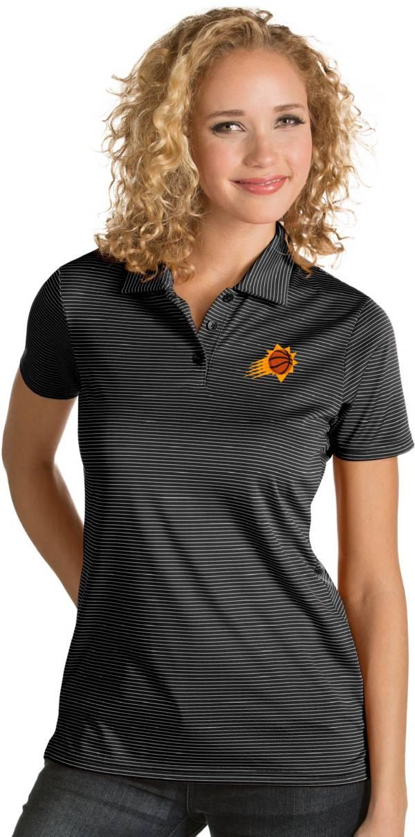 Antigua Women's Phoenix Suns Xtra-Lite Black Quest Performance Polo product image