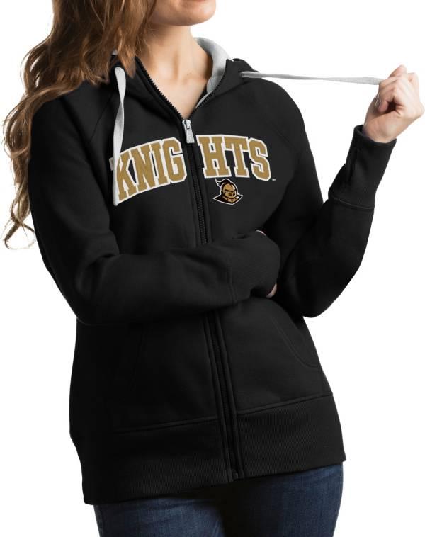Antigua Women's UCF Knights Black Victory Full-Zip Hoodie product image