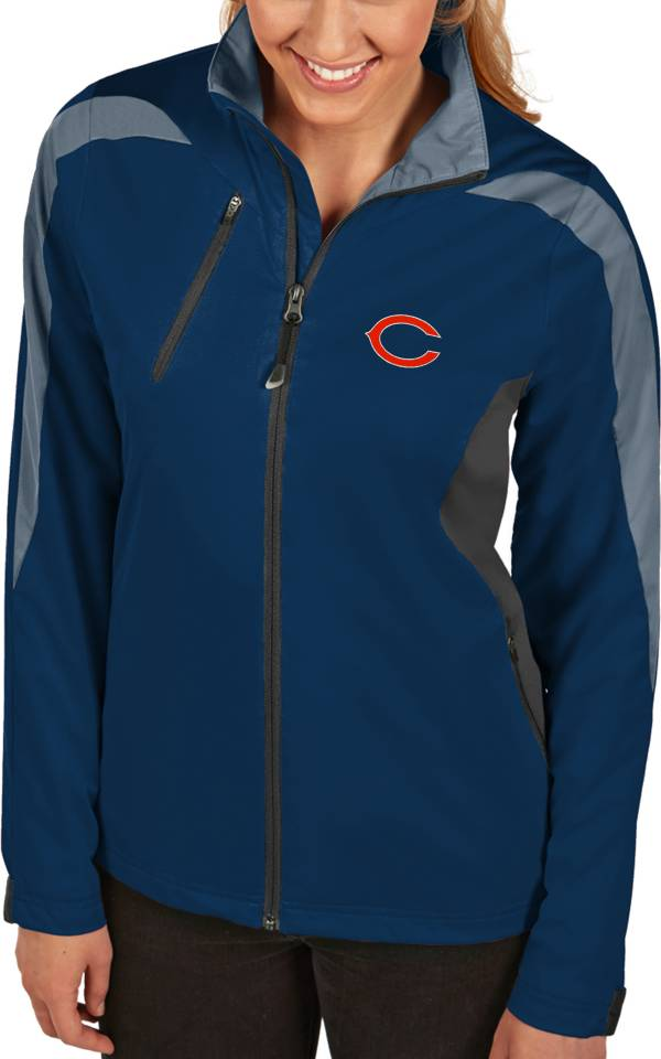 Antigua Women's Chicago Bears Discover Full-Zip Navy Jacket product image