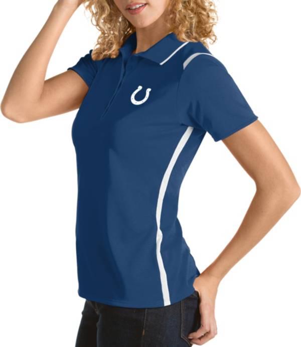 Antigua Women's Indianapolis Colts Merit Royal Xtra-Lite Pique Polo product image