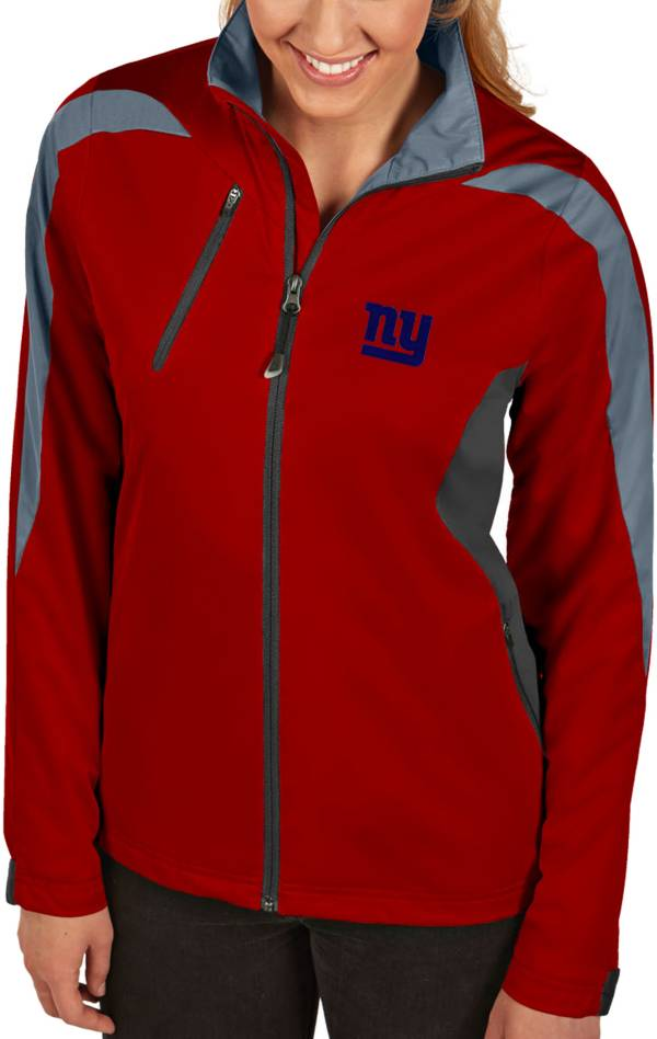 Antigua Women's New York Giants Discover Full-Zip Red Jacket product image