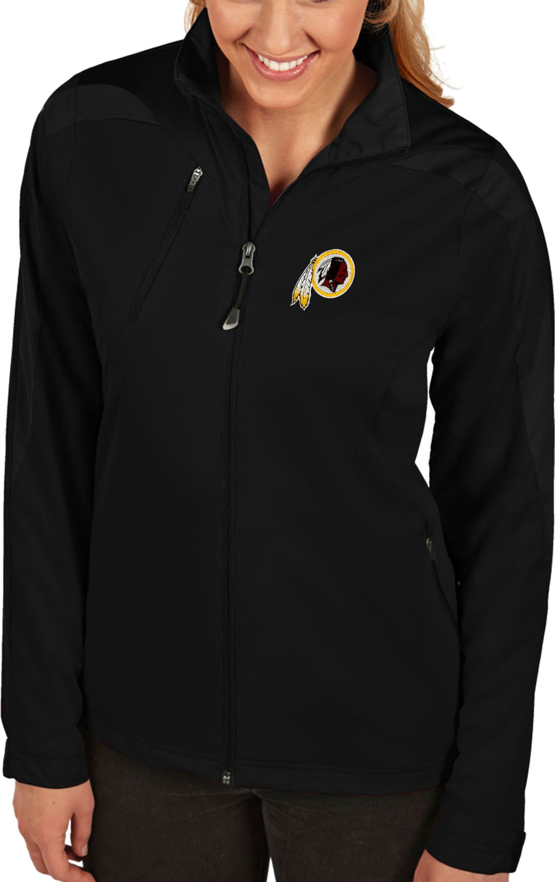 cheap for discount 4febc 64dee Antigua Women's Washington Redskins Discover Full-Zip Jacket