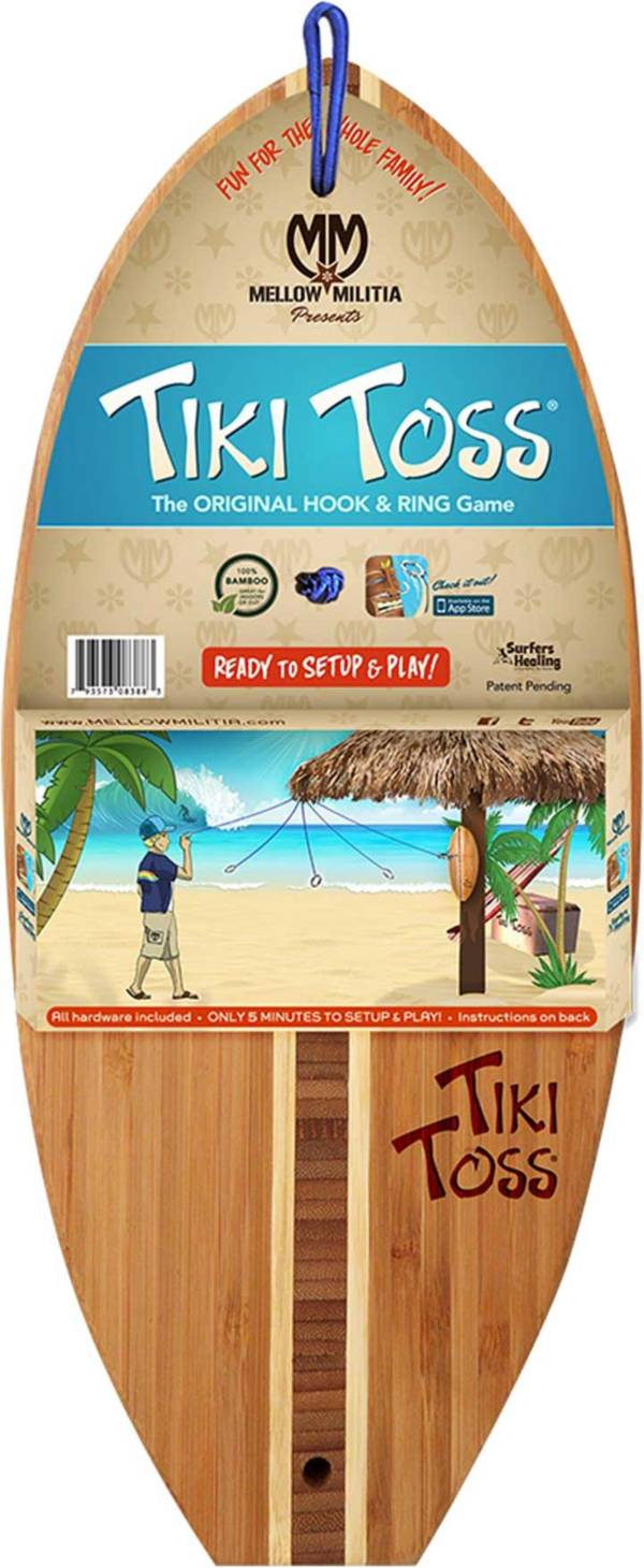 Tiki Toss Surf Edition Hook and Ring Game product image
