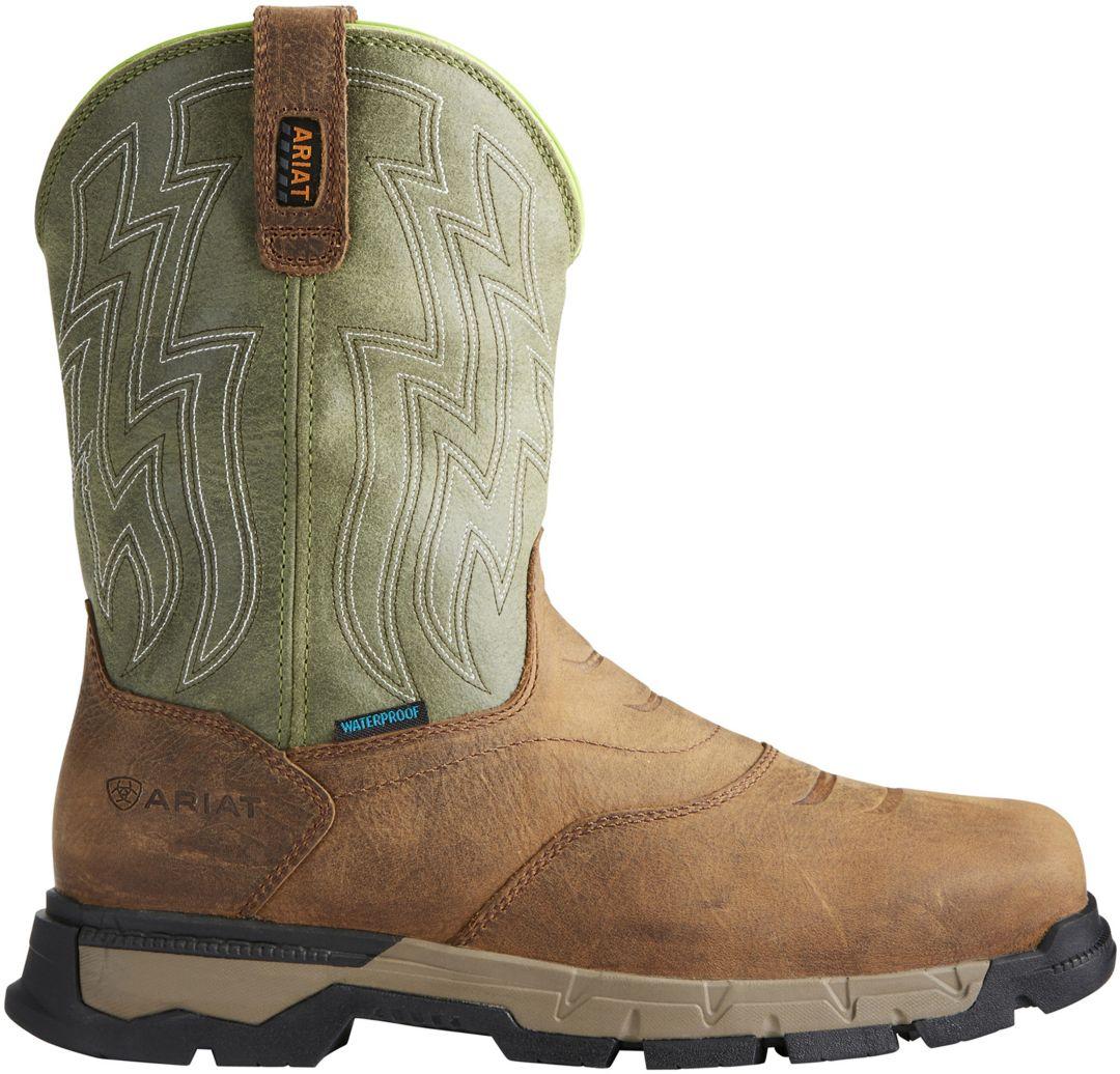 f7bfdd08068 Ariat Men's Rebar Flex H2O Waterproof Composite Toe Work Boots