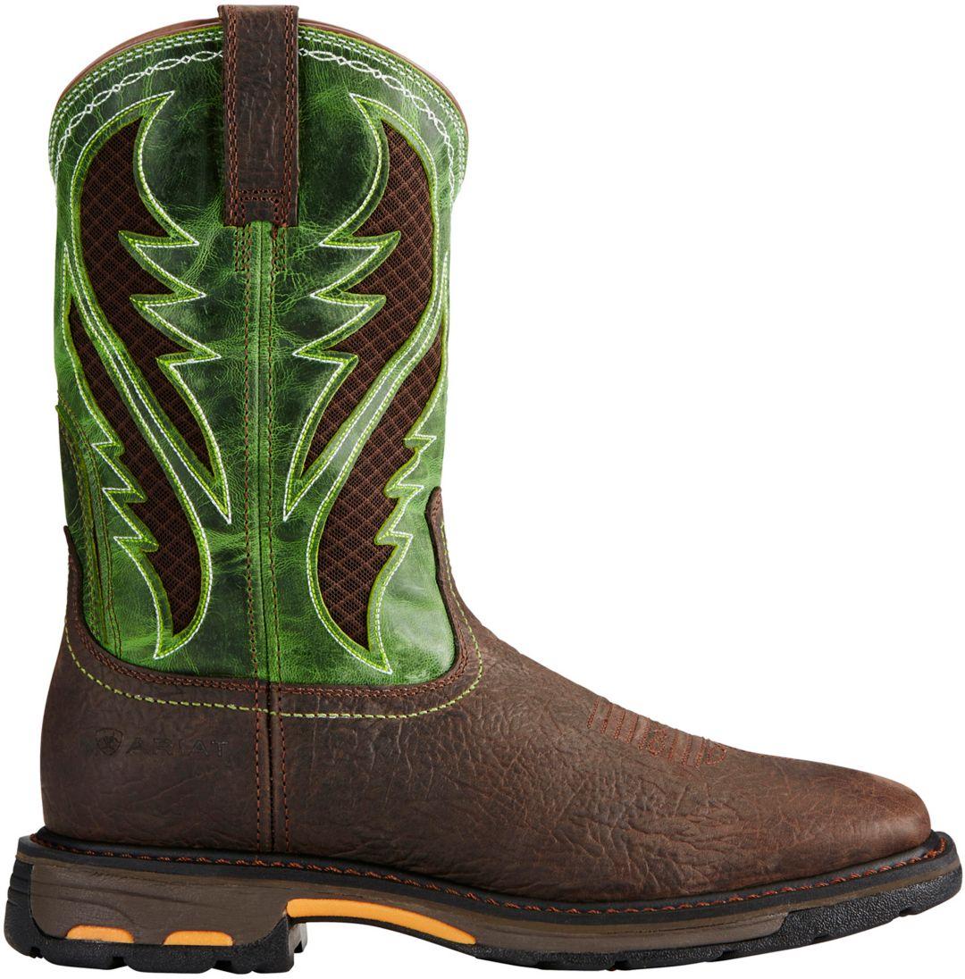 f6b2c46189f Ariat Men's Workhog VentTek Western Work Boots