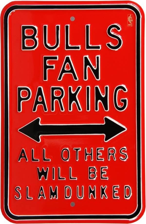 Authentic Street Signs Chicago Bulls Parking Sign product image