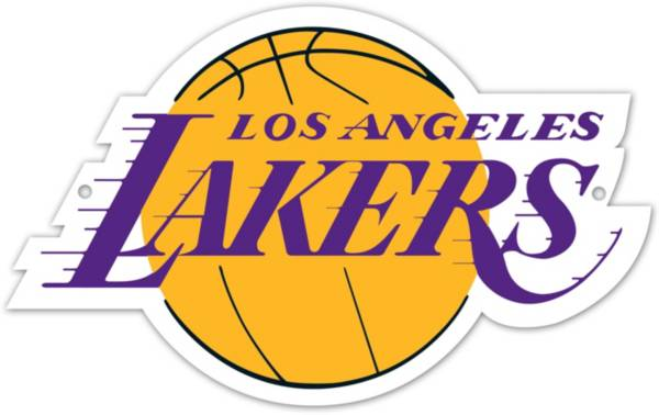Authentic Street Signs Los Angeles Lakers Steel Logo Sign product image