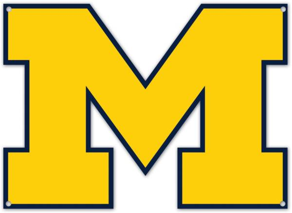 Authentic Street Signs Michigan Wolverines Steel Logo Sign product image